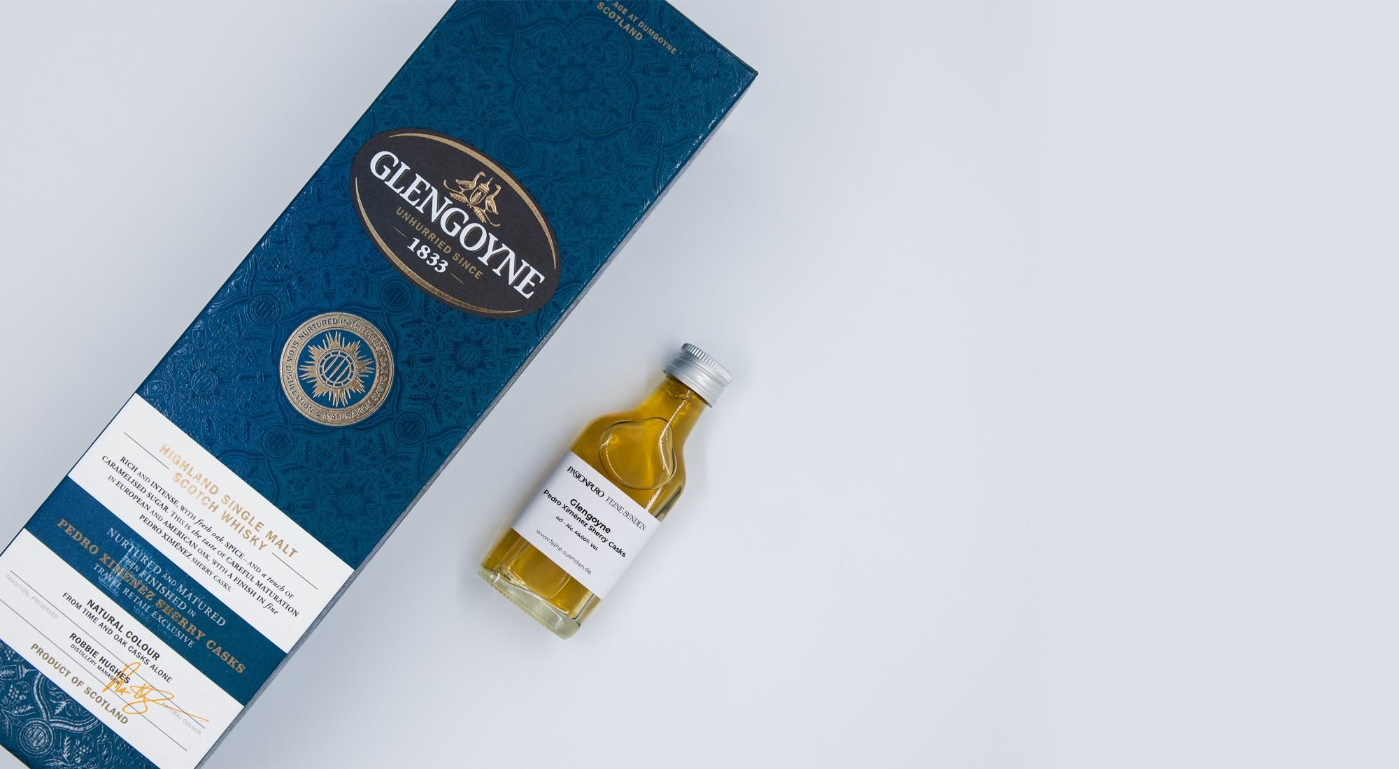 Glengoyne Pedro Ximénez Sherry Casks – 0,04l