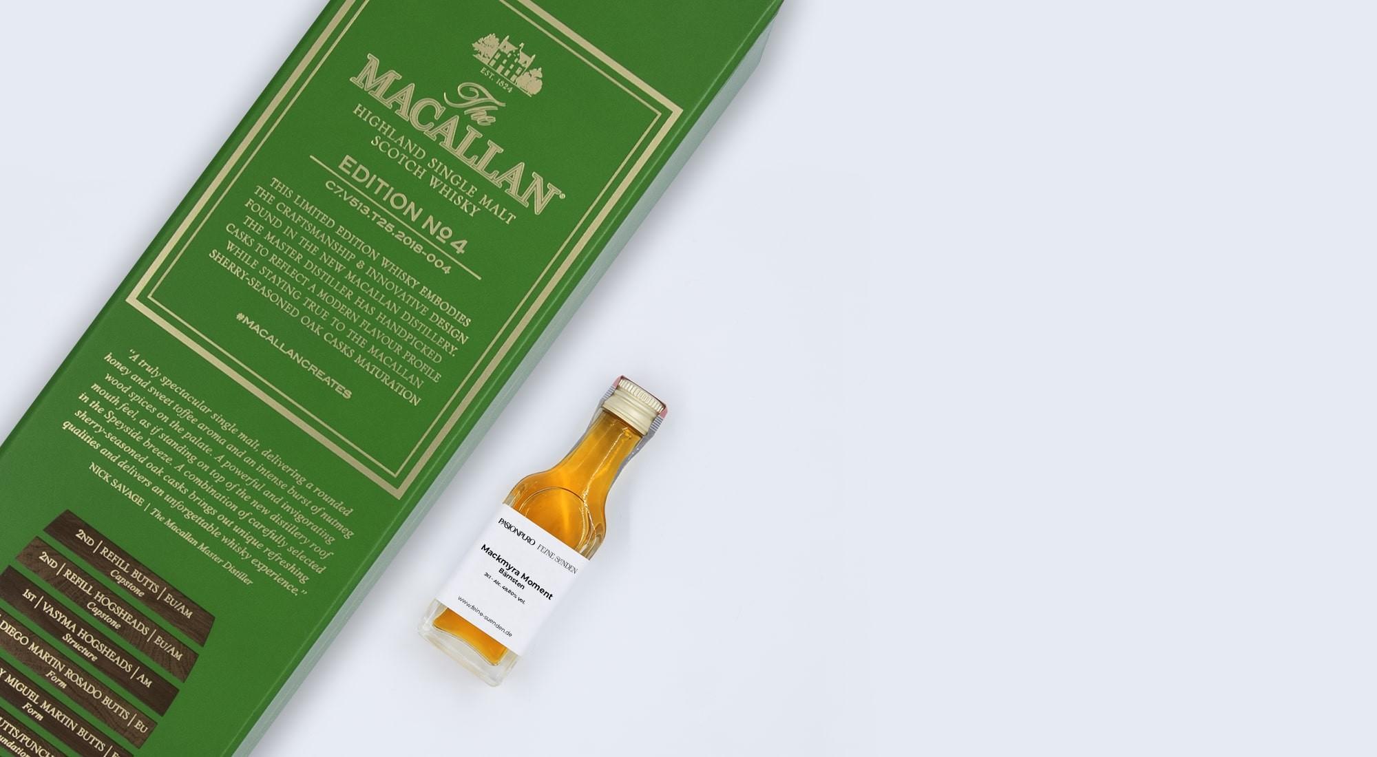 The Macallan Edition No. 4 – 0,02l