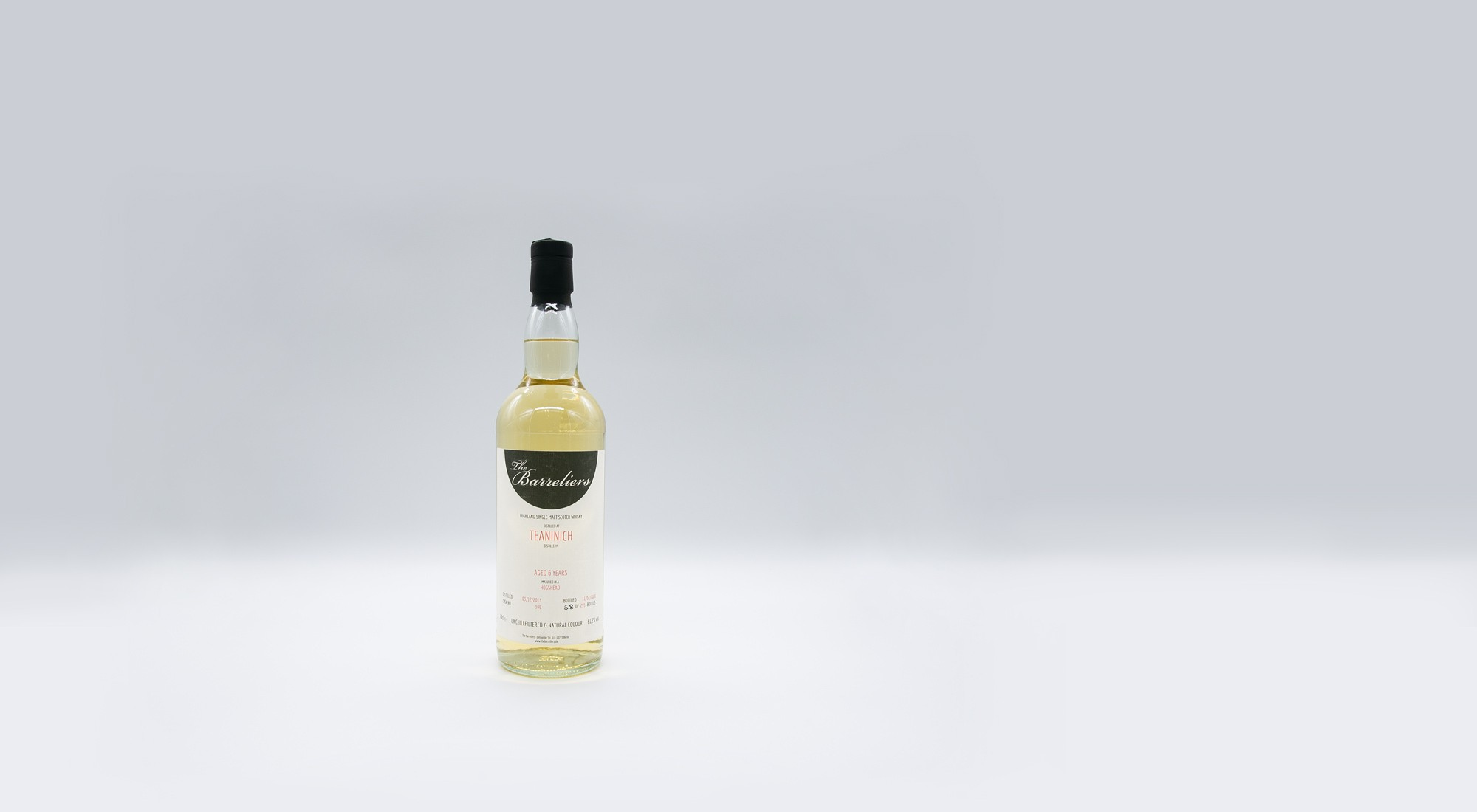 The Barreliers Teaninich – 0,7l