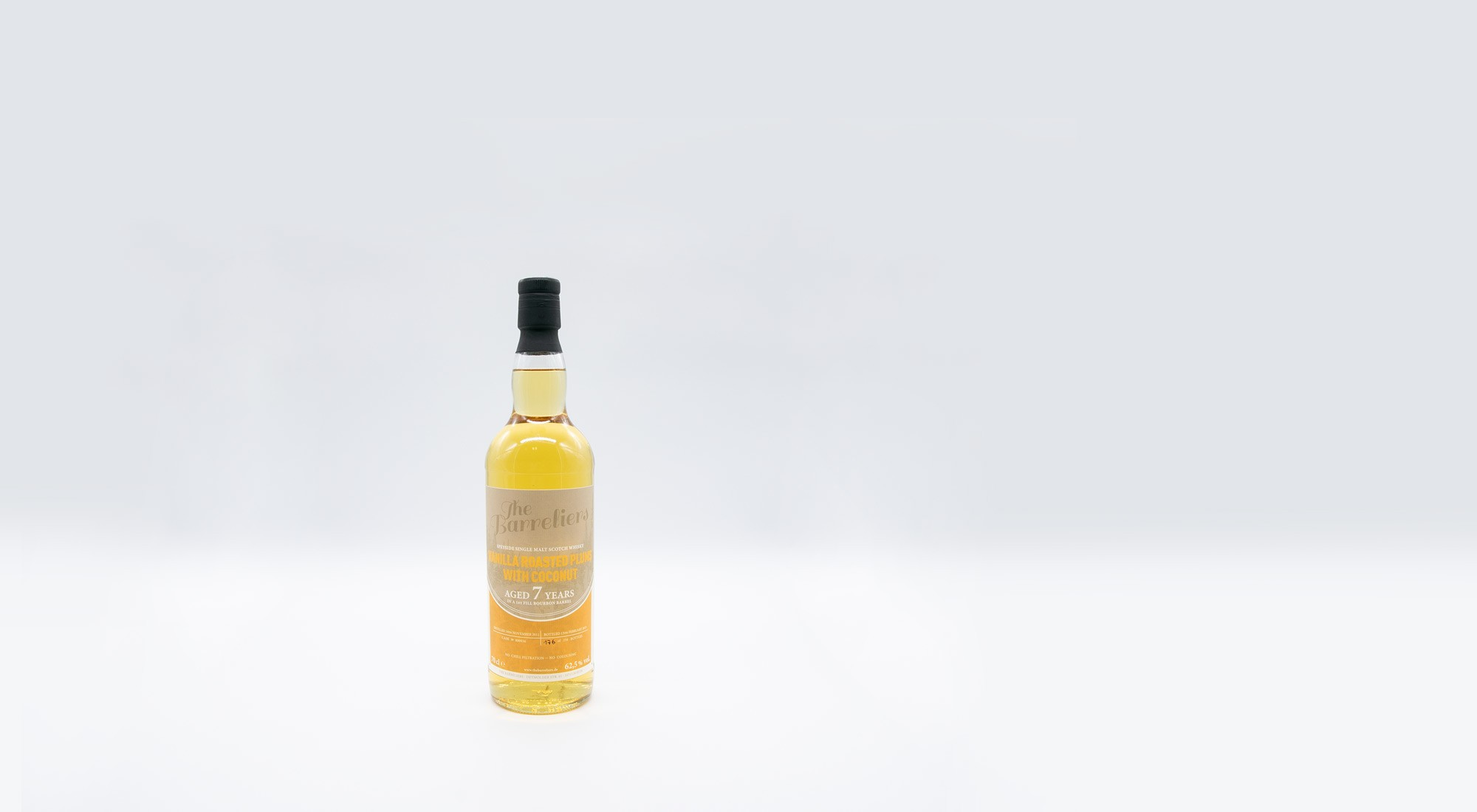 The Barreliers Vanilla Roasted Plums 7 Years – 0,7l