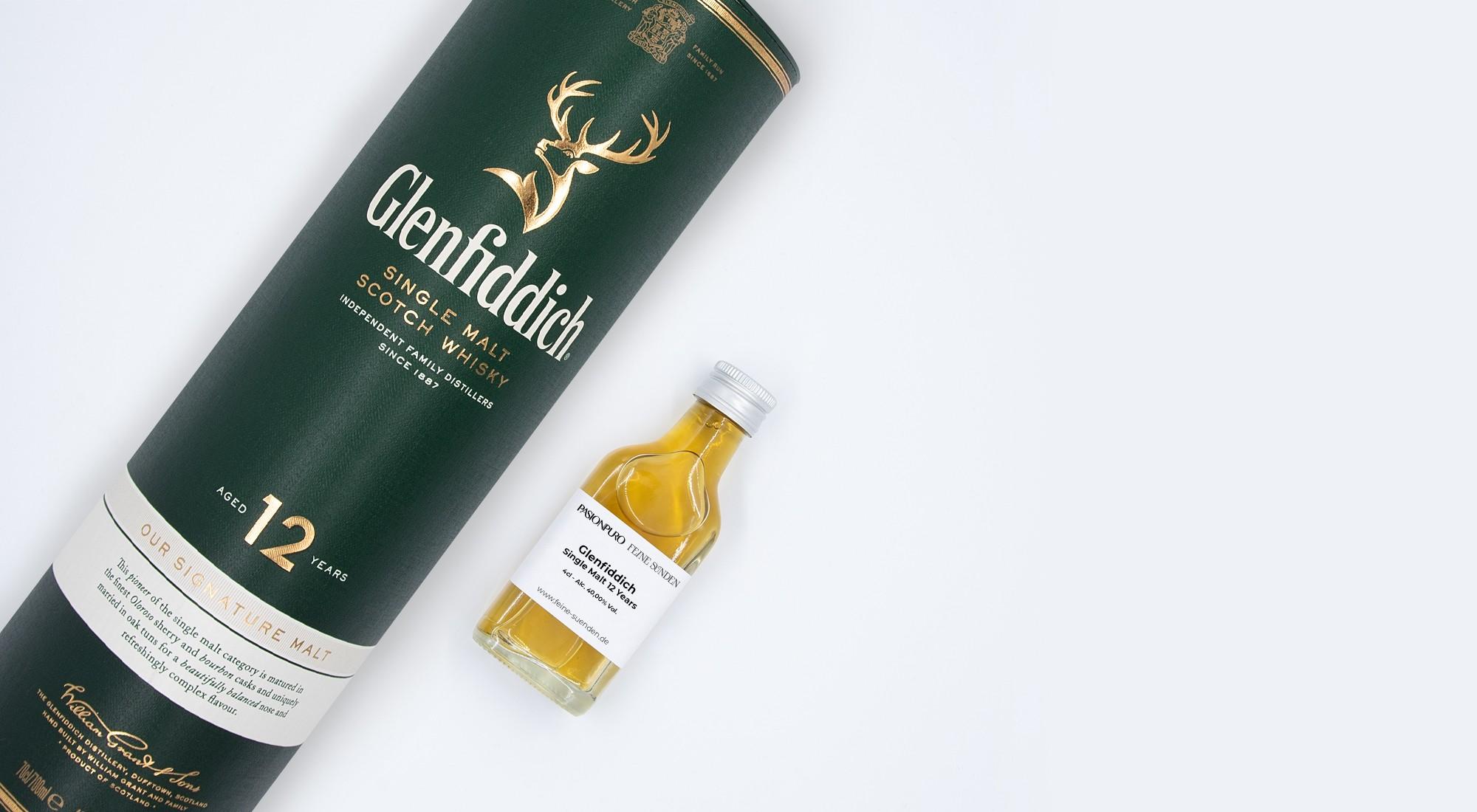 Glenfiddich Single Malt 12 Years – 0,04l